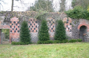 The Chequered Walled Garden, Kingswood
