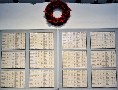 Museum's Roll of Honour