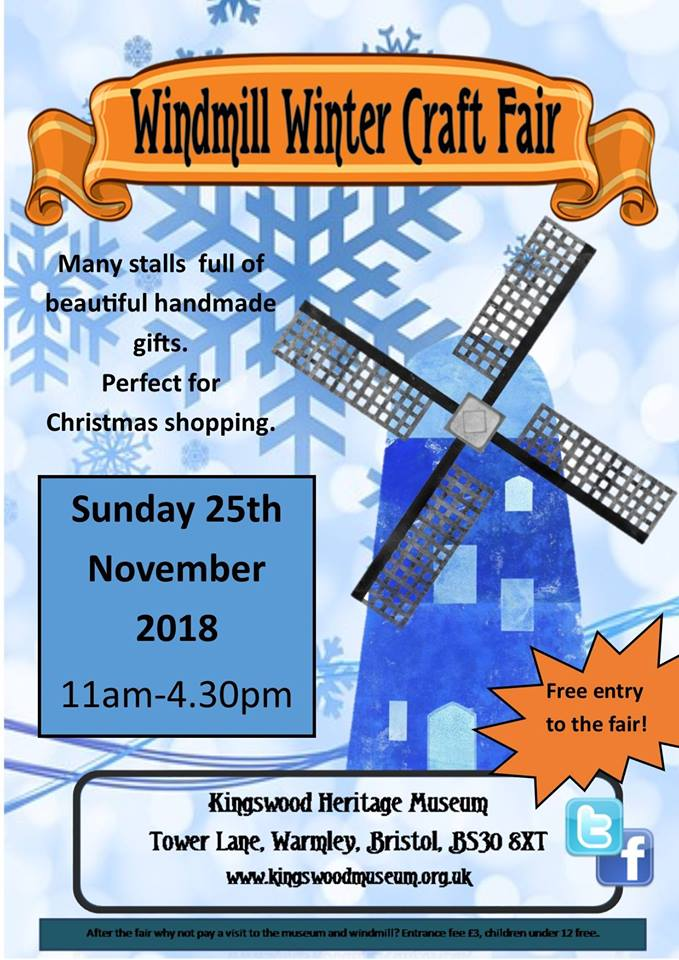 Windmill Winter Craft Fair 2018 Kingswood Museum